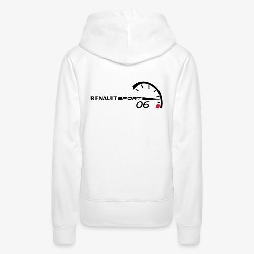 Logo RS noir - Sweat-shirt à capuche Premium pour femmes