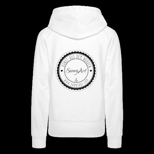 SannyArt Logo - Frauen Premium Hoodie