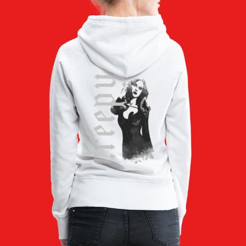Fashion sexy creepy Pin Up Girl 2reborn - Frauen Premium Hoodie