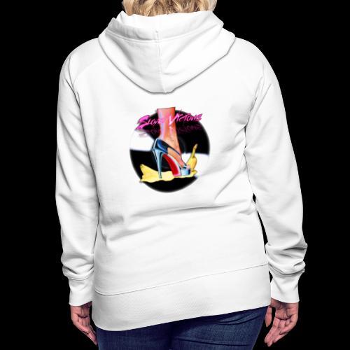 Sloan Vicious Hot Vinyl - Sweat-shirt à capuche Premium pour femmes
