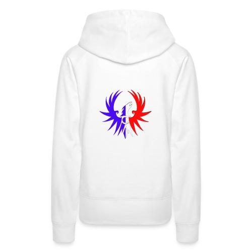 Emblème ATLAS au couleur de notre pays - Sweat-shirt à capuche Premium pour femmes