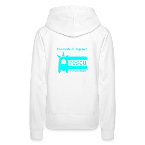 AFrescu - Sweat-shirt à capuche Premium pour femmes