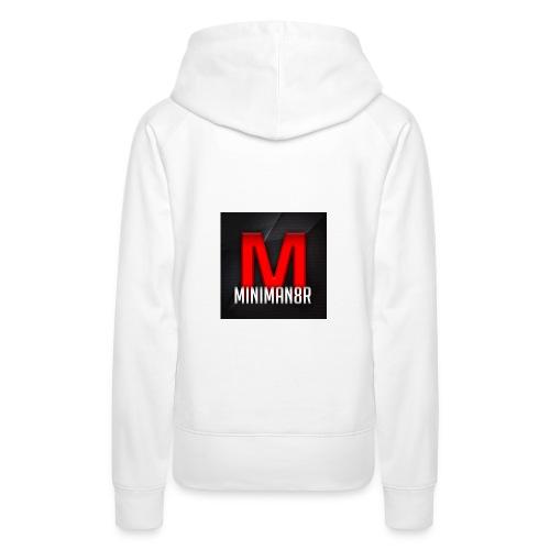 miniman8R Logo - Women's Premium Hoodie