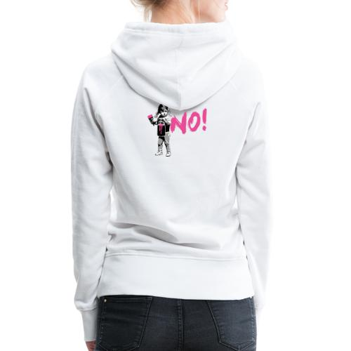 GirlPower NO! - Frauen Premium Hoodie