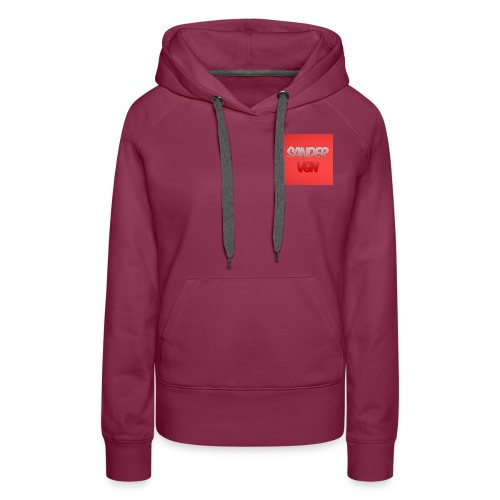 sandervgn - Vrouwen Premium hoodie