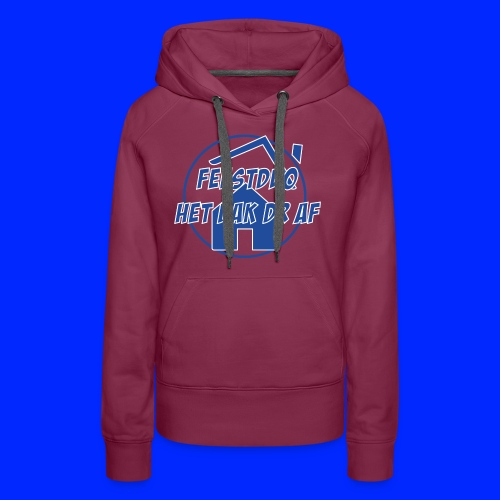 Simpel logo - Vrouwen Premium hoodie