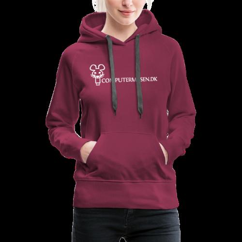 CM 2 - Dame Premium hættetrøje
