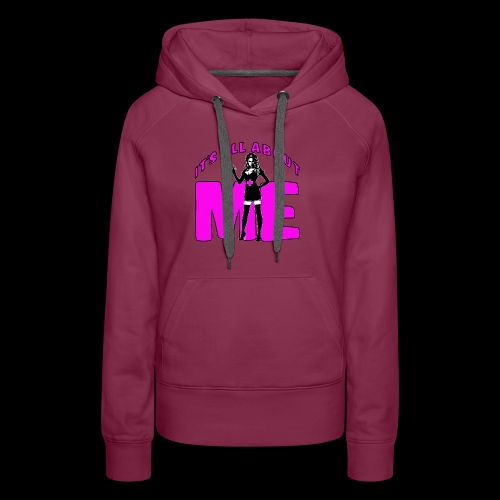 All About me Nurse Pink - Women's Premium Hoodie