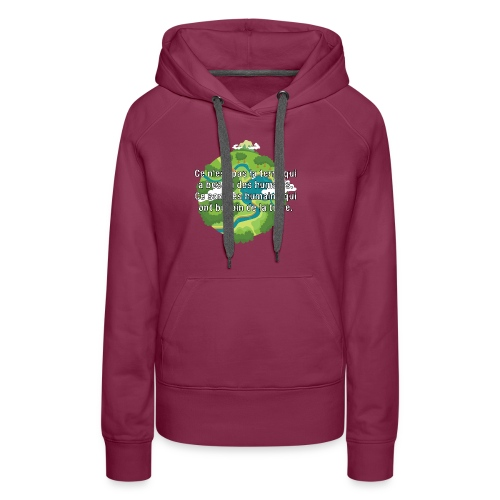 our earth - Women's Premium Hoodie