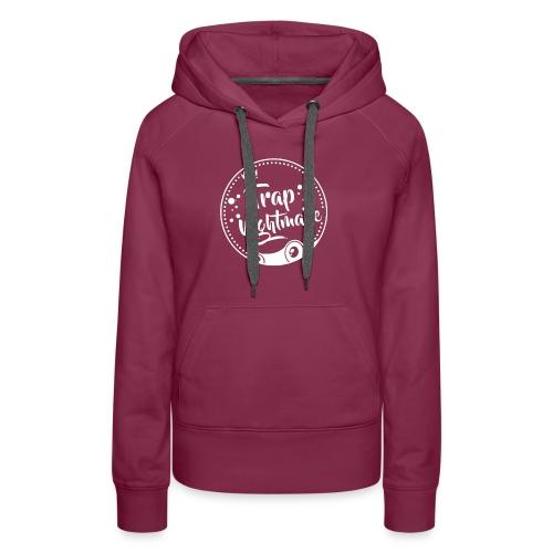 Logo Round - Sweat-shirt à capuche Premium pour femmes