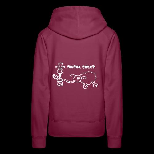 Shisha Sheep Drawing - Frauen Premium Hoodie
