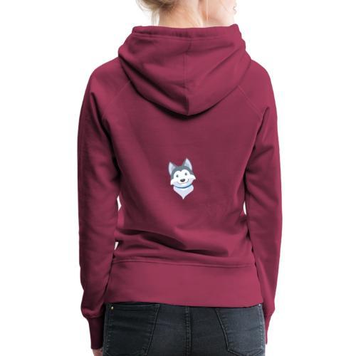 Husky cucci 2 - Sudadera con capucha premium para mujer