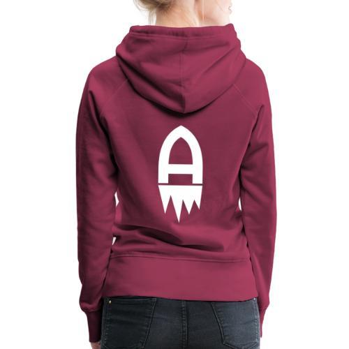 Adelite - Weisses Logo - Frauen Premium Hoodie