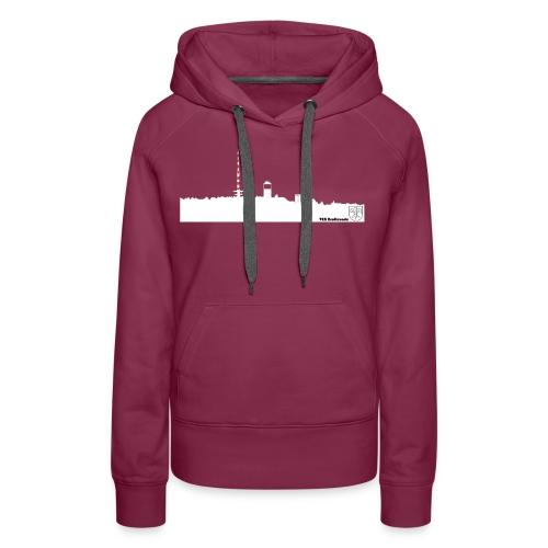 Skyline Inselsberg weiss - Frauen Premium Hoodie