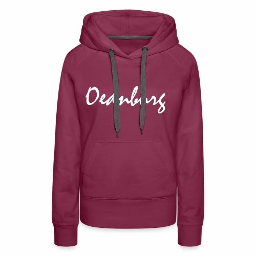 Oednburg Wit - Vrouwen Premium hoodie