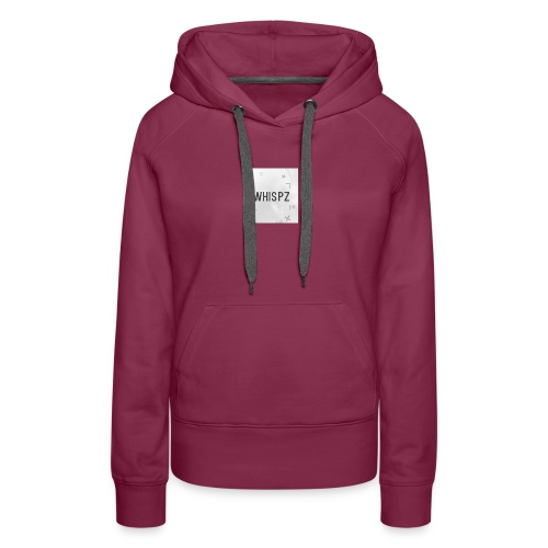 DyZe_WhispZ RED Shirt - Women's Premium Hoodie