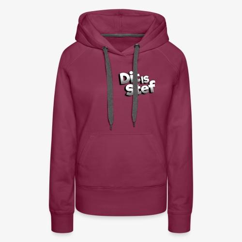 Dit is Stef Logo - Vrouwen Premium hoodie
