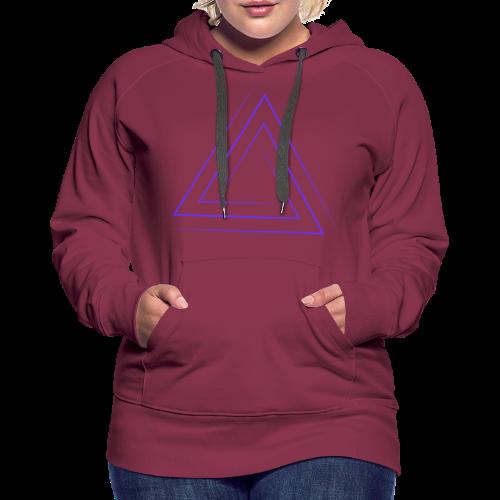 Triangle Ales - Frauen Premium Hoodie