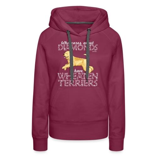 Wheaten Terrier Diamonds 2 - Women's Premium Hoodie