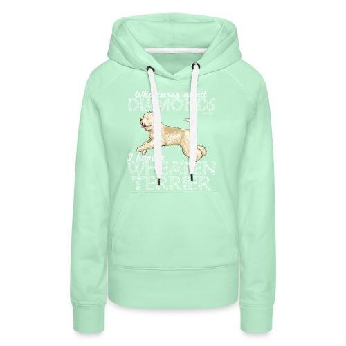 Wheaten Terrier Diamonds 4 - Women's Premium Hoodie