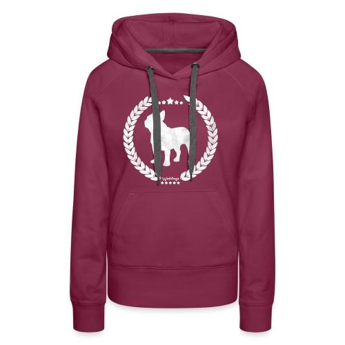 French Bulldog Army Silver - Women's Premium Hoodie