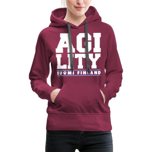 Agility Suomi - Naisten premium-huppari