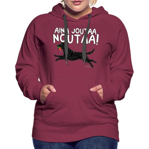 Labradori Noutaa - Naisten premium-huppari