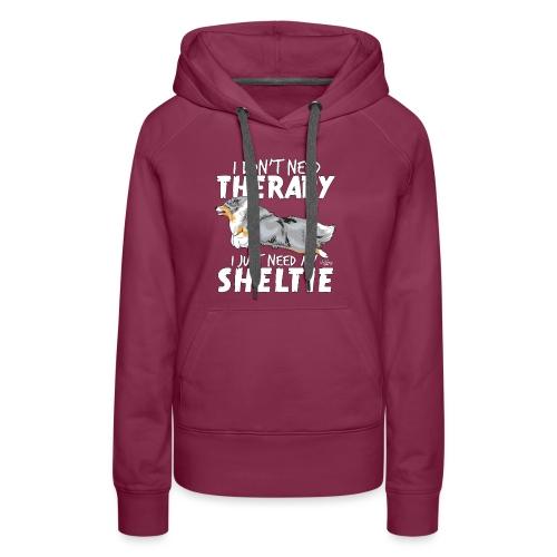 sheltietherapy4 - Women's Premium Hoodie