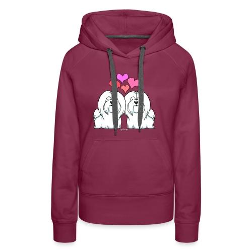 Coton De Tuléar Love - Women's Premium Hoodie