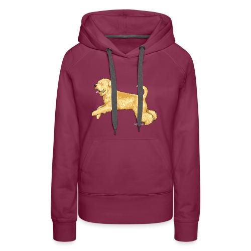 Wheaten Terrier 2 - Women's Premium Hoodie