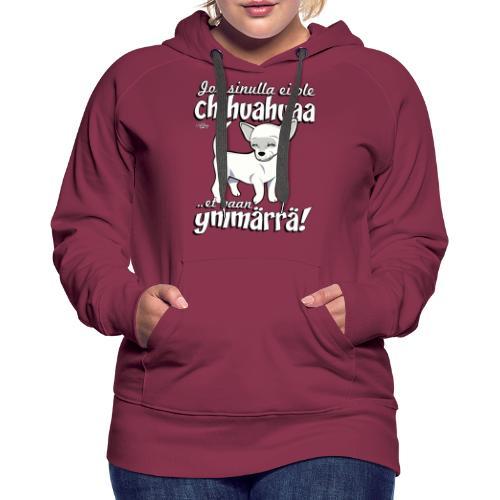 chihuymmarra8 - Naisten premium-huppari