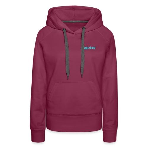 Logo Blue png - Women's Premium Hoodie