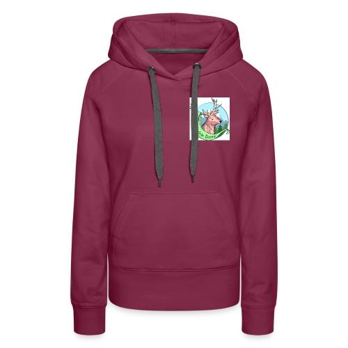 RZ_Logo_fuer_Druck - Frauen Premium Hoodie
