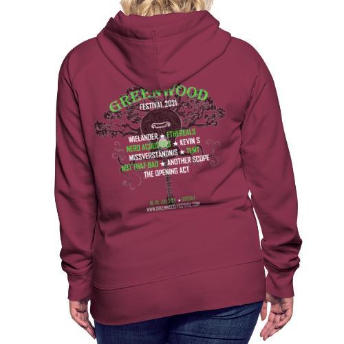 Greenwood Bands 2021 - Frauen Premium Hoodie