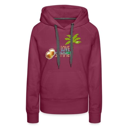NF - Summer - Sweat-shirt à capuche Premium pour femmes