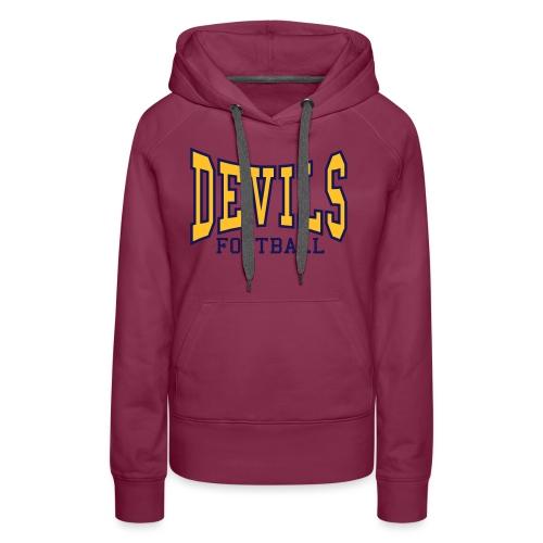 devils logo style 1 stereo cap - Women's Premium Hoodie