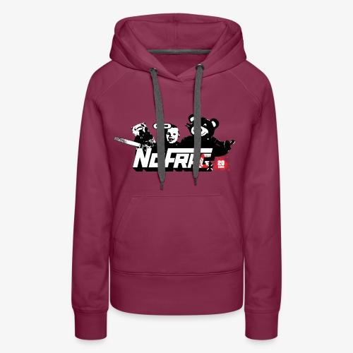 NoFrag - Spécial 20 Ans : PB, Mofo & The Kid - Sweat-shirt à capuche Premium pour femmes