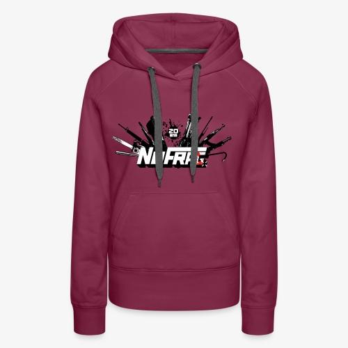 NoFr- Spécial 20 Ans : Armurerie & Black Drop - Sweat-shirt à capuche Premium pour femmes