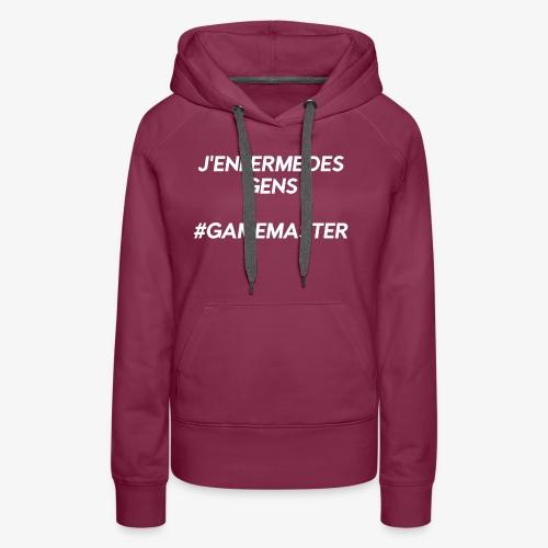 J'enferme des gens - Sweat-shirt à capuche Premium pour femmes