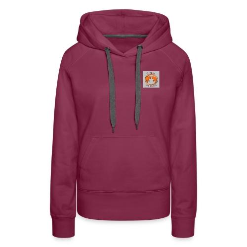 Logo Ecurie - Sweat-shirt à capuche Premium pour femmes