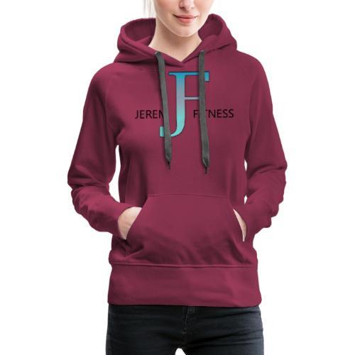 JeremFitness - Sweat-shirt à capuche Premium pour femmes