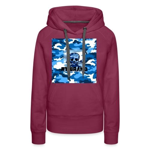 RT BRAND camo - Vrouwen Premium hoodie