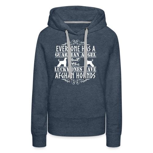 Afghan Hound Angels 2 - Women's Premium Hoodie