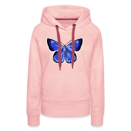 vlinder2_d - Vrouwen Premium hoodie