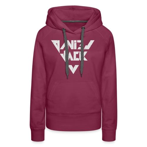 Daniel Jack Logo für dunklen Hintergrund - Frauen Premium Hoodie