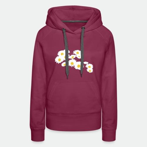 Spring Season Daisies - Women's Premium Hoodie