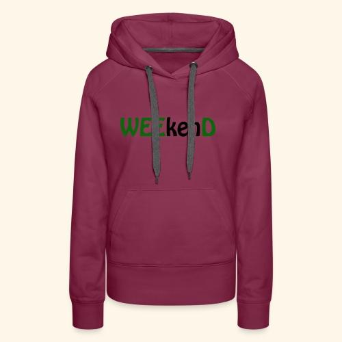 weed - Frauen Premium Hoodie