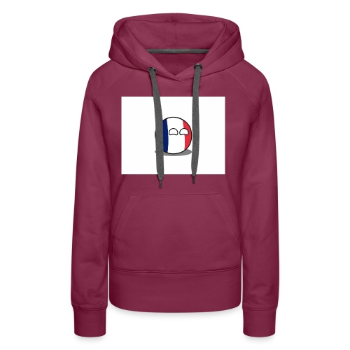 France Simple - Sweat-shirt à capuche Premium pour femmes