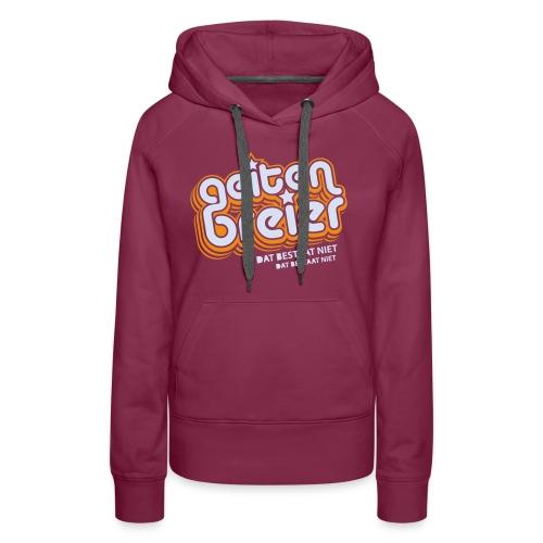 Geitenbreier - Vrouwen Premium hoodie