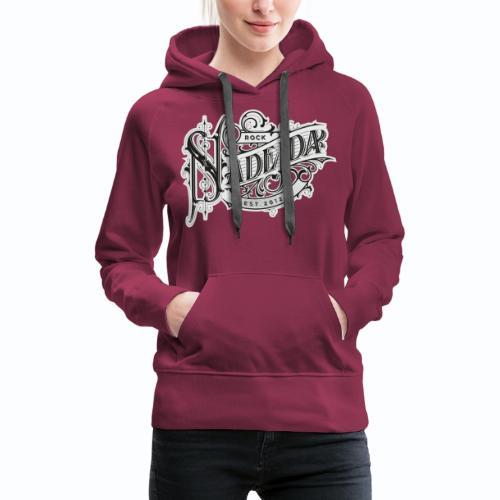 Logos Nadejda - Sweat-shirt à capuche Premium pour femmes